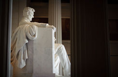 Lincoln Memorial Profile Stock Images