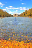Lincoln Memorial and Reflecting Pool Stock Photos