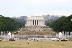 Lincoln Memorial Reflection Pool Royalty Free Stock Photos