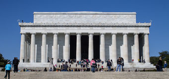 Lincoln Memorial in Spring Stock Images