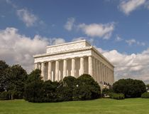 Lincoln Memorial summer Royalty Free Stock Photography