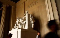 Lincoln Memorial Statue Fotografie Stock