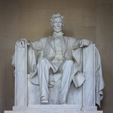 Lincoln memorial statue Royalty Free Stock Image