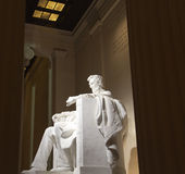 Lincoln memorial statue Royalty Free Stock Photos