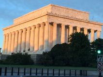 Lincoln memorial Washington DC Stock Image