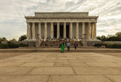 Lincoln Memorial at sunset. Washington D.C., USA Royalty Free Stock Images