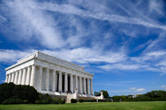 Lincoln Memorial under Blue Sky Royalty Free Stock Images