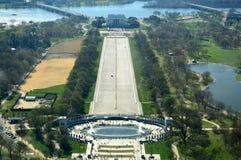 Lincoln Memorial van Washington DC Monumnet royalty-vrije stock afbeeldingen