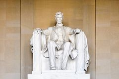 Lincoln Memorial Washington Royaltyfri Foto