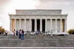 Lincoln Memorial Washington Royaltyfri Fotografi