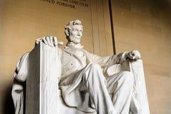 Lincoln Memorial Washington Royaltyfria Foton
