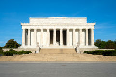 The Lincoln Memorial in Washington Royalty Free Stock Photo