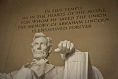 Lincoln Memorial Washington, C.C Image stock