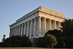 Lincoln Memorial Washington D.C. A view of the Lincoln Memorial Stock Image