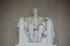 Lincoln Memorial in Washington D.C. Stock Photos