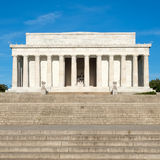 The Lincoln Memorial in Washington D.C. Royalty Free Stock Photos