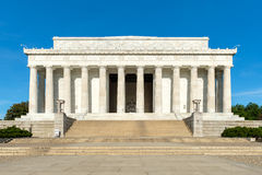 The Lincoln Memorial in Washington D.C. Royalty Free Stock Photography