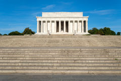 The Lincoln Memorial in Washington D.C. Stock Photography