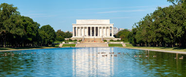 The Lincoln Memorial in Washington D.C. Royalty Free Stock Images