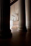 Lincoln Memorial, Washington D.C. Interior of Lincoln Memorial, Washington D.C Royalty Free Stock Image