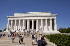 Lincoln memorial Royalty Free Stock Photos