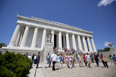 The Lincoln Memorial Stock Image