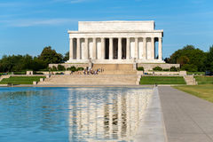 The Lincoln Memorial in Washington D.C. Stock Images