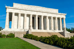 The Lincoln Memorial in Washington D.C. Stock Photo