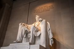 Lincoln Memorial, Washington DC Royaltyfri Bild