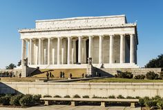 Lincoln memorial Washington dc Fotografia Royalty Free
