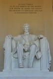 Lincoln Memorial, Washington, DC Stock Photos