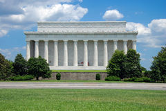Lincoln Memorial in Washington DC Stock Photos