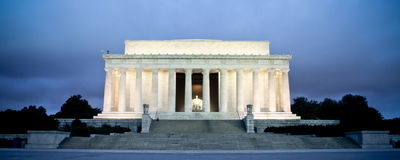 Lincoln Memorial, Washington, DC Stock Images