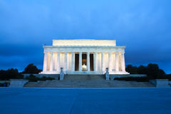 The Lincoln Memorial, Washington, DC. Royalty Free Stock Image