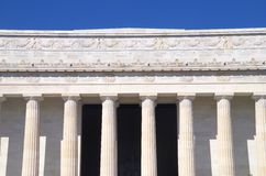 Lincoln Memorial Washington DC Royalty Free Stock Photography