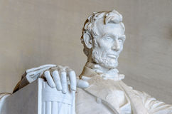 Lincoln Memorial Washington DC Royaltyfri Fotografi