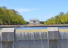 Lincoln Memorial, Washington DC Immagine Stock