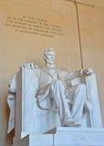 Lincoln Memorial, Washington DC Fotografia Stock Libera da Diritti