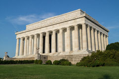 Lincoln Memorial. In Washington DC Royalty Free Stock Photography