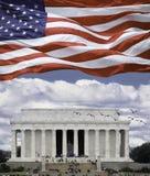 Lincoln Memorial. In Washington DC Royalty Free Stock Photo
