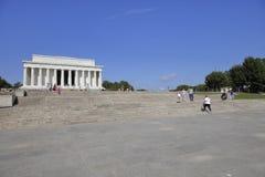 Lincoln memorial Washington dc Obraz Royalty Free