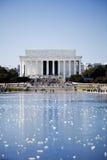 Lincoln Memorial in Washington DC. Lincoln Memorial - National Memorial in Washington DC under clear sky Royalty Free Stock Photos