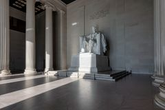 Lincoln Memorial in Washington DC royalty free stock photography