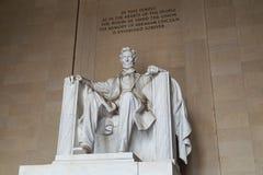 Lincoln Memorial, Washington,  DC Royalty Free Stock Image
