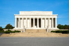 The Lincoln Memorial in Washington DC Royalty Free Stock Images