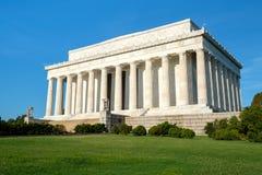 The Lincoln Memorial in Washington DC Stock Photos