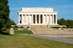 The Lincoln Memorial in Washington DC Royalty Free Stock Photography