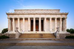 Lincoln Memorial in Washington DC Royalty Free Stock Photos
