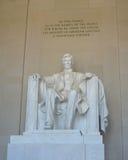 Lincoln Memorial in Washington DC - immagine di riserva Fotografie Stock