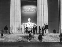 Lincoln Memorial, Washington DC stock images
